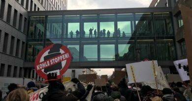 Kohle Stoppen - Klimademo in Berlin