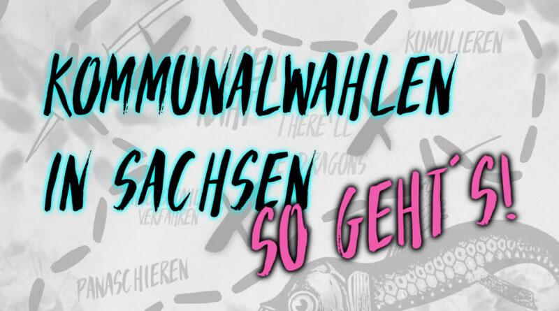 Kommunalwahl in Sachsen - so geht's