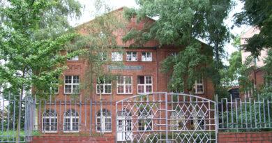 Die Lübecker Synagoge - Originalbild: MrsMeyerDE