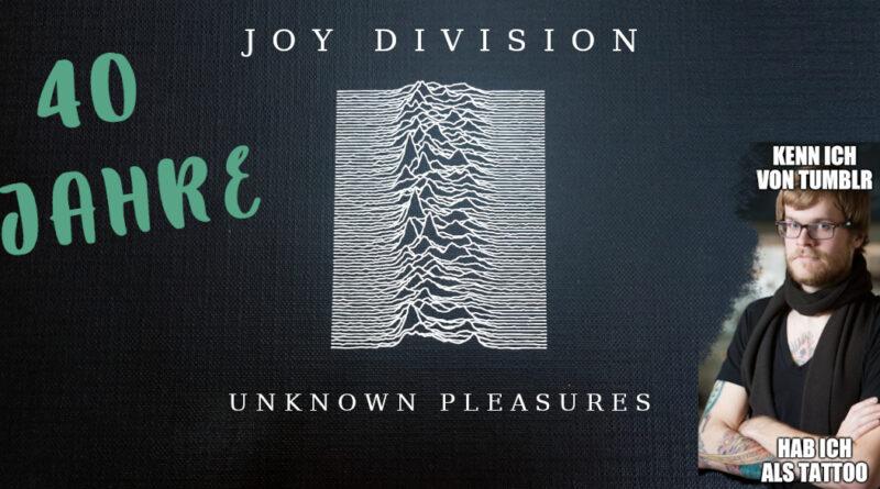 """40 Jahre """"Unknown Pleasures"""" – Das Album zum T-Shirt"""